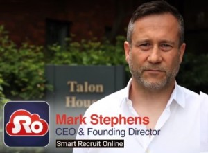 Smart recruit Online CEO Mark Stephens