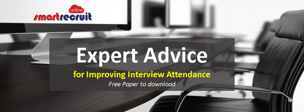 Click here to download our ebook expert tips on improving interview attendance