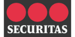 View of the Securitas logo to represent SRO's clients
