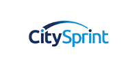 View of the CitySprint brand logo to represent SRO's clients